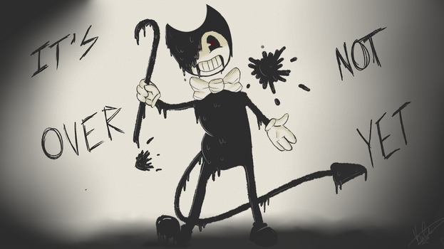 It's Not Over Yet (Bendy and the Ink Machine) by PewdsFanBro