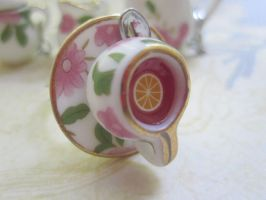lemon tea cup ring by CandyChick