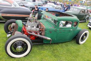 Green Rat Rod by DrivenByChaos