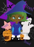 Boo by VickiBeWicked