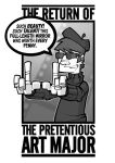 Pretentious Art Major Preview by deaddays
