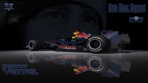 F1 Red Bull Vettel by Holly69