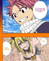 Fairy Tail Chapter 272-Natsu and Lucy by Natsu9555