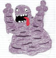 Grimer by RecycleBicycle