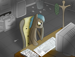 Mareami Keys - Panel 1/Cover by Zhooves
