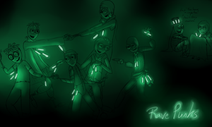 Ravepunks by Shrineheart