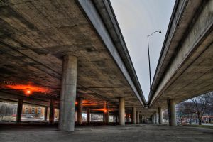 Under the Bridge II HDR by Logicalx