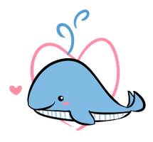whale love by kyupi