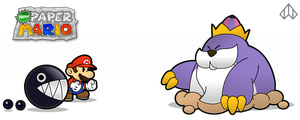 New Paper Mario: King Monty by Nelde