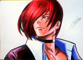 Iori Yagami - The King of Fighters by JeanCarlo183