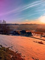 Colorful winter wonderland sundown by patrickjobst