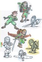 Jetboy with bad pencil crayon by SteveLeCouilliard