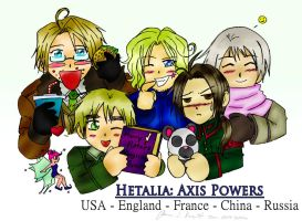 Hetalia - Allies by FrauV8
