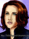 Scarlett Johansson As Black Widow In The Avengers3 by lokilaufeyson69