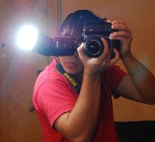 Me and my camera by rrobitzoo