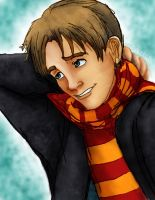 HP: Young Remus Lupin by catgirl123