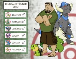 PCBC- Chief the dino trainer by chief-orc