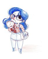 Me and Baby by MissPATYcia