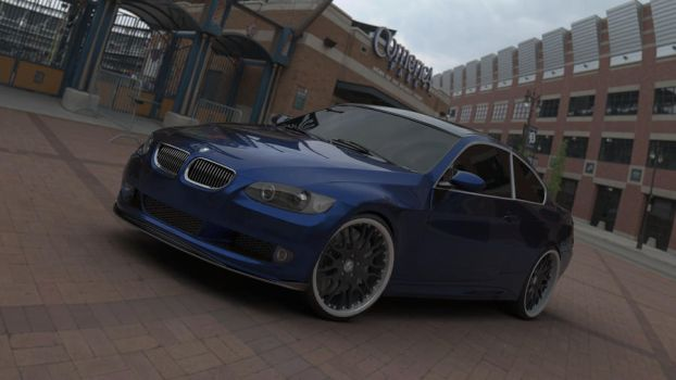 BMW 3 Series Coupe by ehsanamir