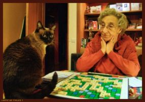 Scrabble Queen.... by Tigles1Artistry