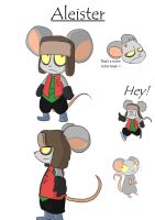 Aleister the Mouse by MasaBear