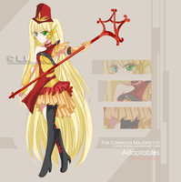 Adoptable CLOSED [Crimson Majorette] by rinfiora