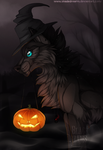 Ready for Halloween - YCH by ShadeDreams