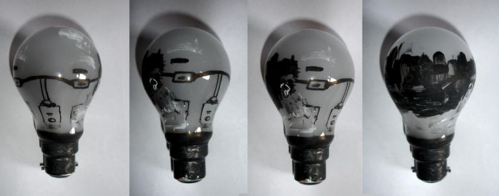 Modernist Lightbulb by ian-moore