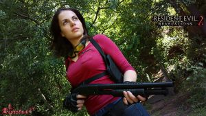 Claire Redfield Revelations 2 - Sniper Outfit by Rejiclad