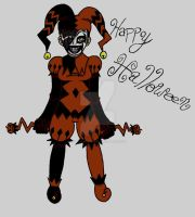 HAPPY HALLOWEEN from FBS by Female-Black-Spy