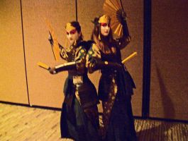 Sakura-con 2013 Kyoshi warriors by VoltrobPokeymanz