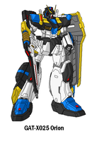 GAT-X025 Orion Gundam by SPARTAN-251