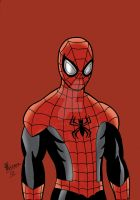 Superior Spider-Man - Disney XD style by chrismas-81