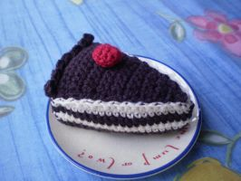 Crocheted Coffee Cake by Amyberry