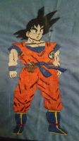 Dragon Ball Z - Sewn Goku by ElfenLink