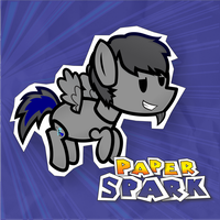 My Paper Pony:Spark (Album Art) by UrpleB3atin