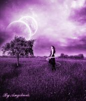 purple dream scene by angelwik by Realm-of-Fantasy