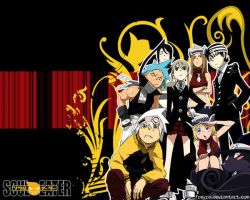 Soul Eater Group by freyra
