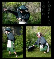 DoBS Toph Cosplay by Porcubird