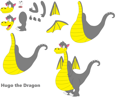 Character Builder - Hugo the Dragon by FoxPrinceAgain