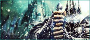 Lich King Forum Signature by BlakeB89