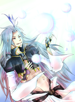 : Kuja : by blargberries