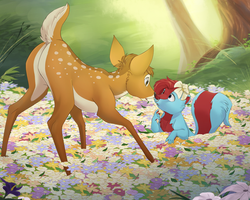 .: COM: Flowerfield :. by PirateHearts