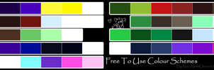 Free To Use Colour Schemes by Nai-Alei