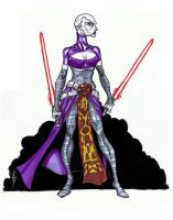 Assajj Ventress by Hodges-Art