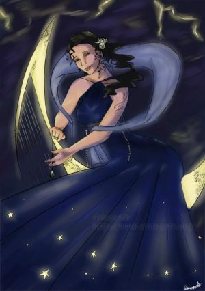 Nyx, goddess of night