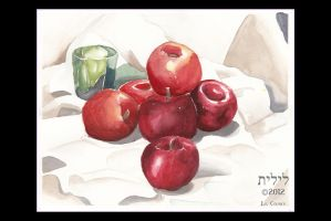 Charles Demuth: Apples and Green Glass by lilith-darkmoon