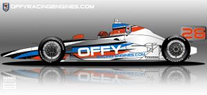 Offy Racing Engines IRL Car by hanmer