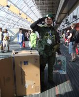Solid Snake copslay by Shiroyuki9