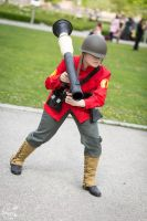 RED Soldier Team Fortress 2 by eente